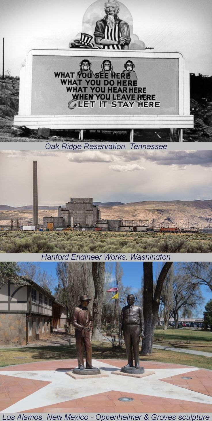 The Manhattan Project National Historic Park, signed into existence in November 2015, includes sites at Oak Ridge, Tennessee; Los Alamos, New Mexico; & Hanford, Washington. The nation's newest National Park preserves the history of the beginning of the atomic age, the story of the people, events, science, & engineering that led to the creation of the atomic bomb during World War II. #America