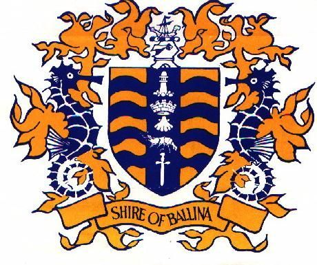 Ballina Shire Council (NSW) coat of arms.