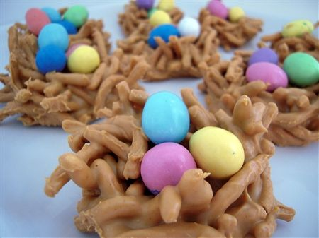 Easter Bird's Nest Candy Recipe