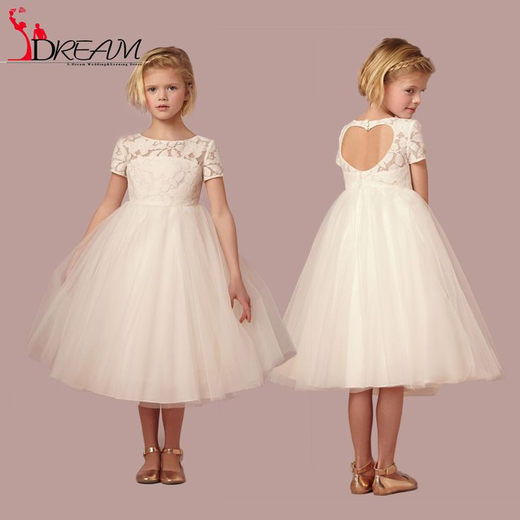 Find More Flower Girl Dresses Information about Puffy Flower Girls Dresses for Weddings 2016 Short Sleeve Lace First Communion Dresses Kids Prom Dresses for Girls Ball Gowns,High Quality dress for body shape,China dress 2 Suppliers, Cheap dress frill from Orenda Wedding Dress Factory on Aliexpress.com