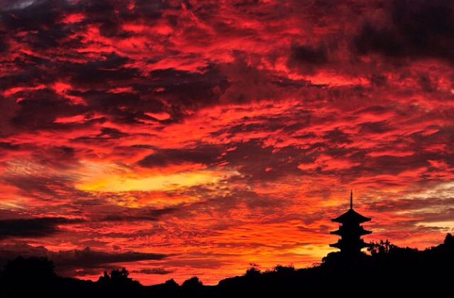Beautiful Japanese Sunset  Japanscapes In 2019  Japan -7804