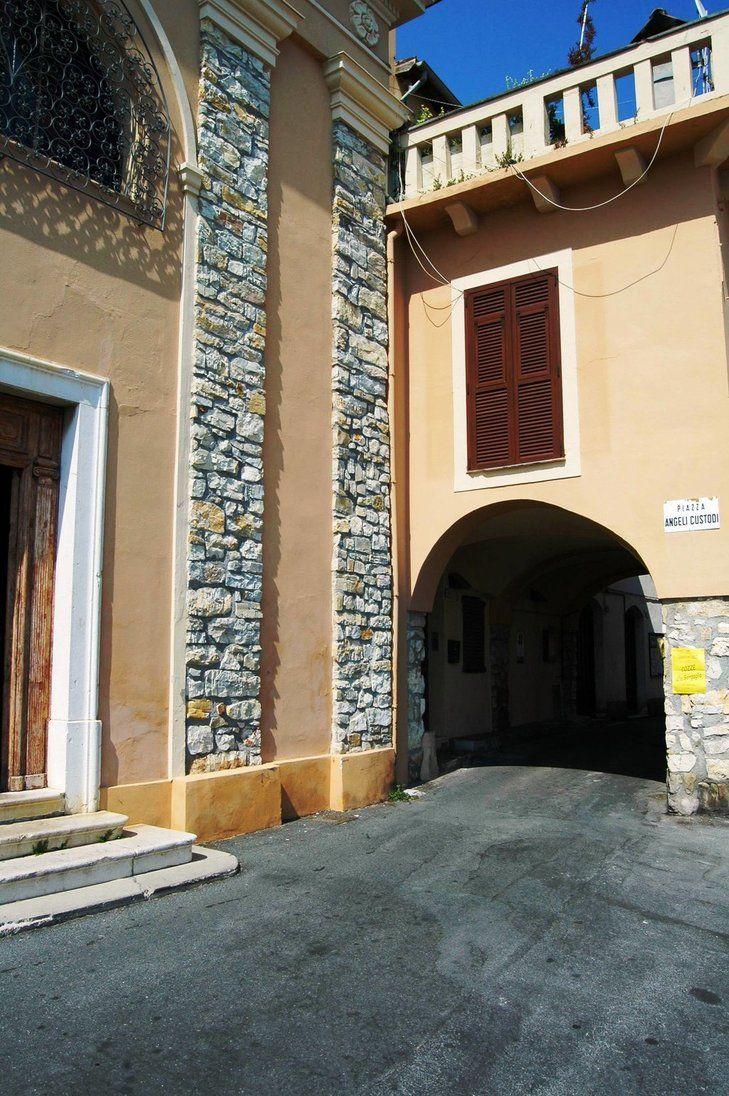 Grimaldi Superiore, Frazione di Ventimiglia (IM) - Piazza Angeli Custodi
