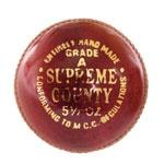 Supreme County Cricket Ball - $15.00