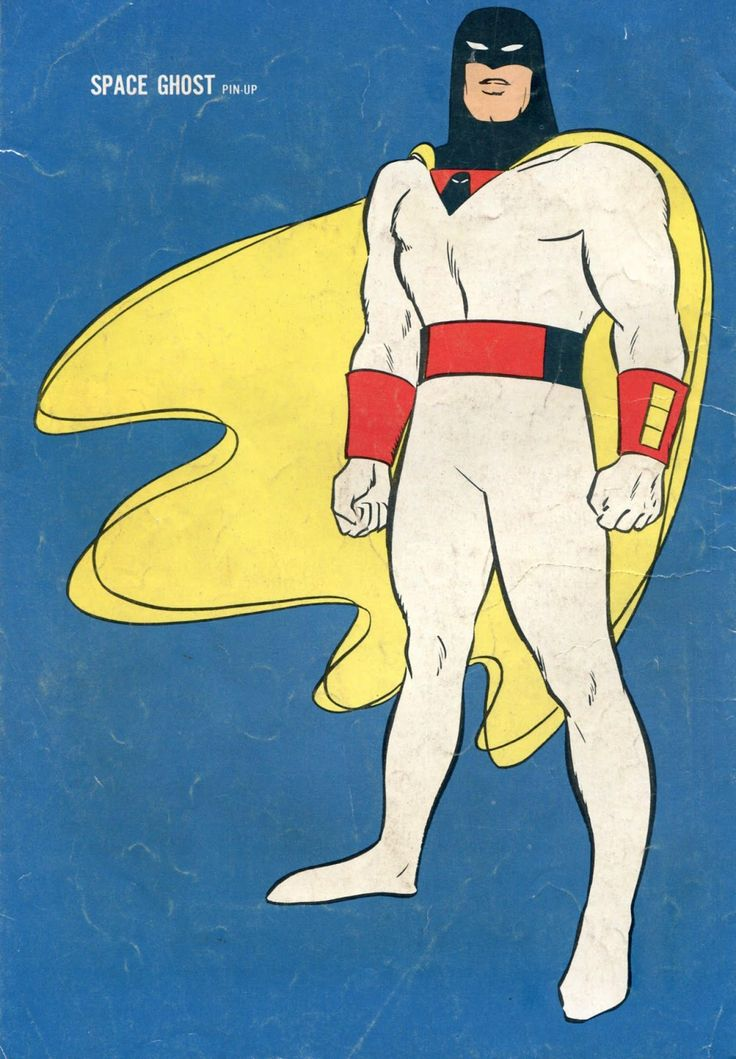 Space Ghost   Old cartoons