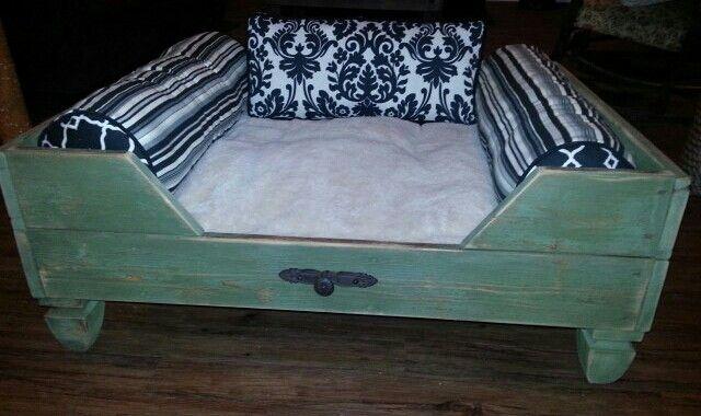 Extra large dog bed.