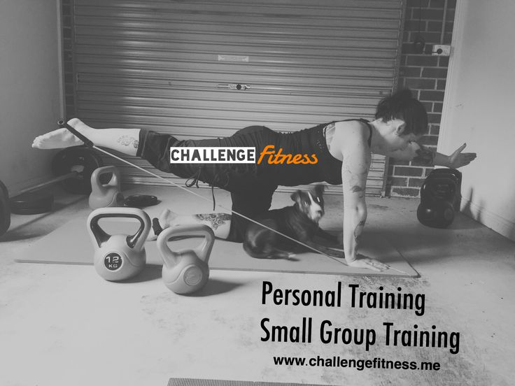 Personal training Small group training.