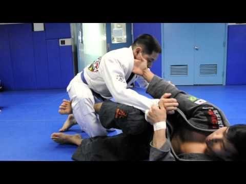 3 DE LA RIVA SWEEPS: Knee Push Sweep, Scissor Sweep and Rainbow Sweep with Kris Kim - YouTube