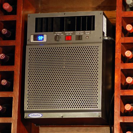 VS Series CellarPro 3200 wine cooling units – for wine cellars up to 800 cu. Ft.  Wine Cellar Specialists  4421 Cedar Elm Circle Richardson, TX 75082  Toll Free: 866-646-7089  Texas Office: 972-454-0480  Illinois Office: 773-234-0112  http://www.winecellarspec.com/cooling/#