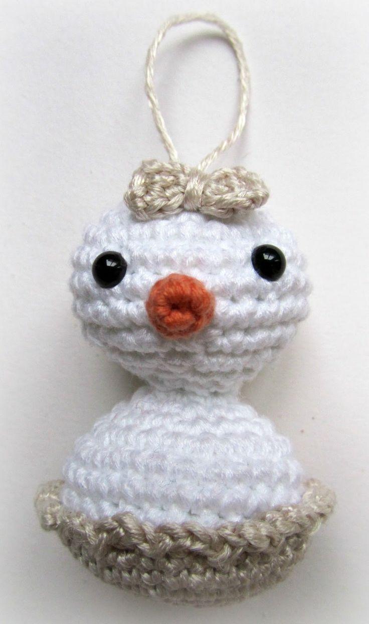 Baby Snowflake - Patrón gratis en Español / Also English Free Pattern aquí: http://crafteandoqueesgerundio.blogspot.com.es/2012/11/patron-baby-snowflake-pattern-baby.html