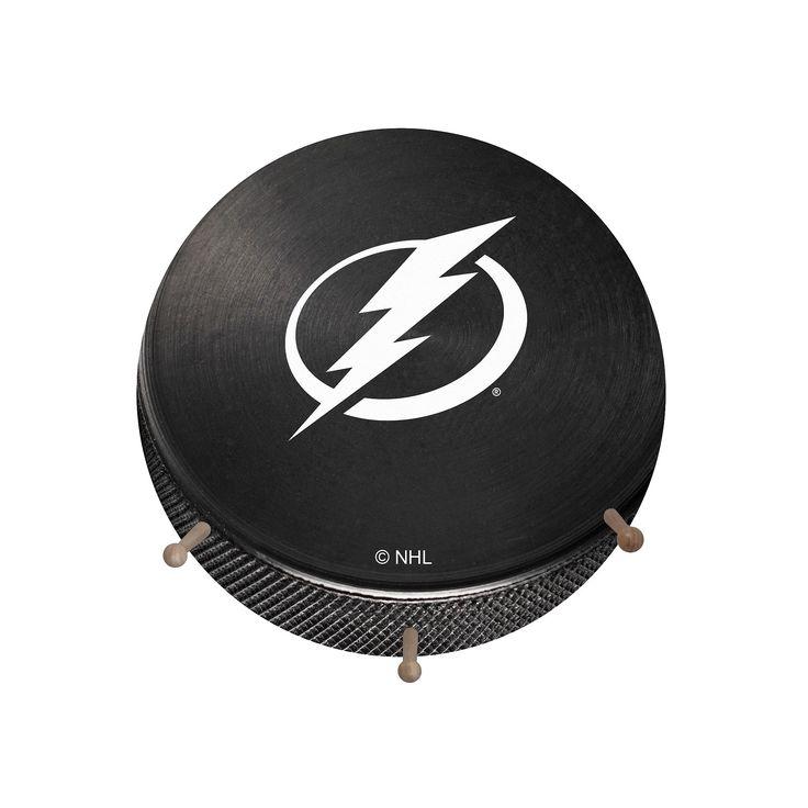 Tampa Bay Lightning Hockey Puck Coat Hanger, Multicolor