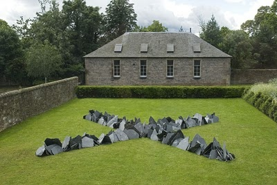 Cornish Slate Cross  Scottish National Gallery of Modern Art Edinburgh 2007