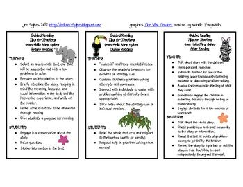 Guided Reading Guide for Grades 1-5 Cheat Sheet FREE