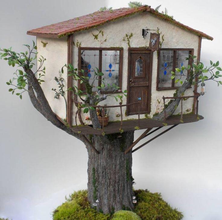 Miniature Tree House 936 best miniatures images on pinterest | dollhouses, miniature