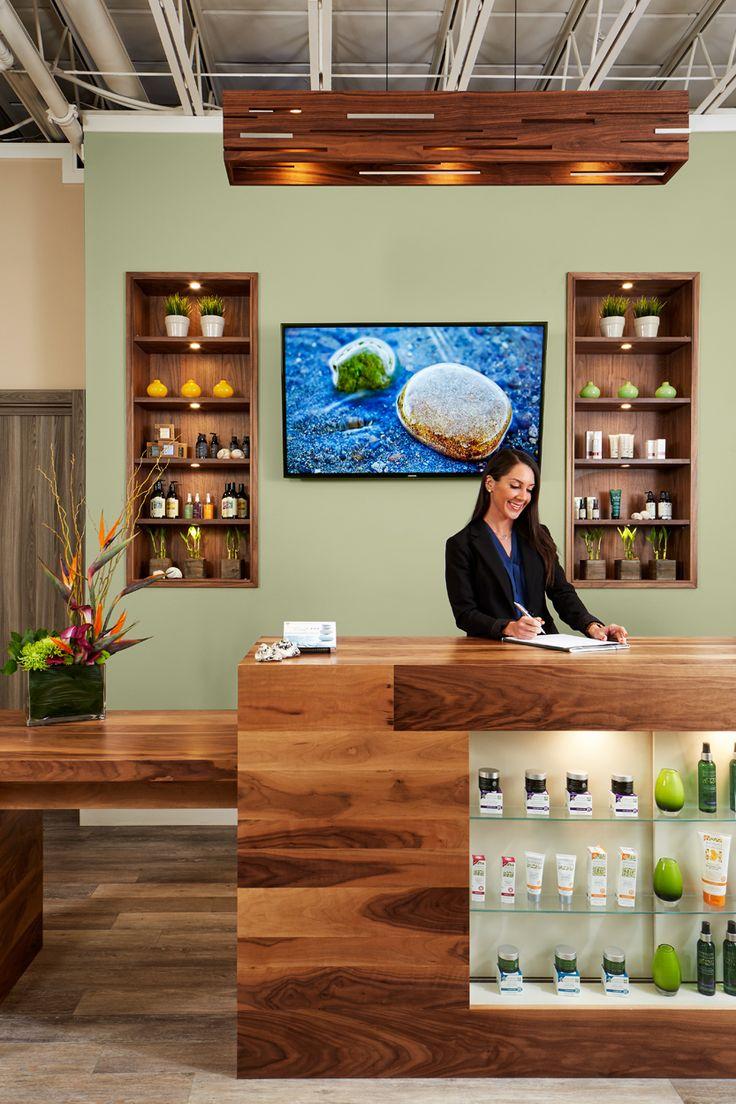 Reception Desk. Point of Sales Desk. Designed by Rhonda