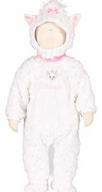 Disney Baby Marie Plush All in One with Hat - Share your babys first Disney experience with this beautiful Aristocats costume from Disney Baby. This all in one plush romper is soft. cosy and fun. Its the perfect outfit for a fancy dress event or  http://www.comparestoreprices.co.uk/childrens-dressing-up-clothes/disney-baby-marie-plush-all-in-one-with-hat-.asp