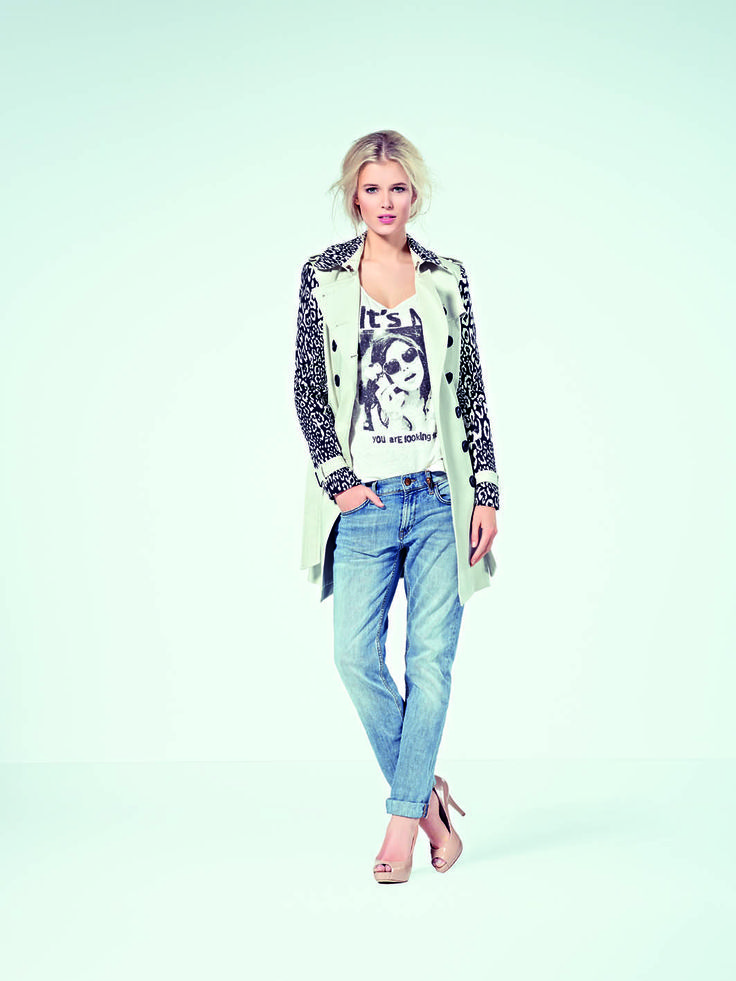 Beautiful jacket + jeans SS14 // #Studio25Finland #RichRoyal
