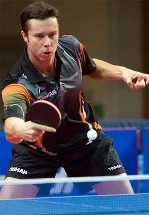 Vladimir Samsonov the 2010 Polish Open Men's Singles champion #tabletennis #vladimirsamsonov #tenismesa #vsport