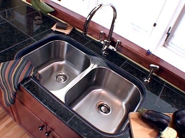 How To Install An Undermount Sink And A Granite Tile