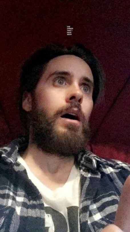Jared Leto - snapchat ( 25.3.2016 )