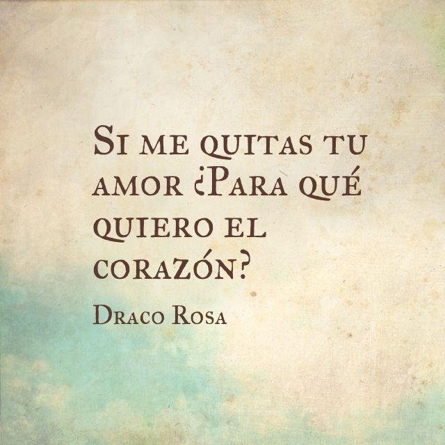 Draco Rosa - 31 de octubre Plaza Condesa. Venta de boletos: www.ticketmaster.com.mx