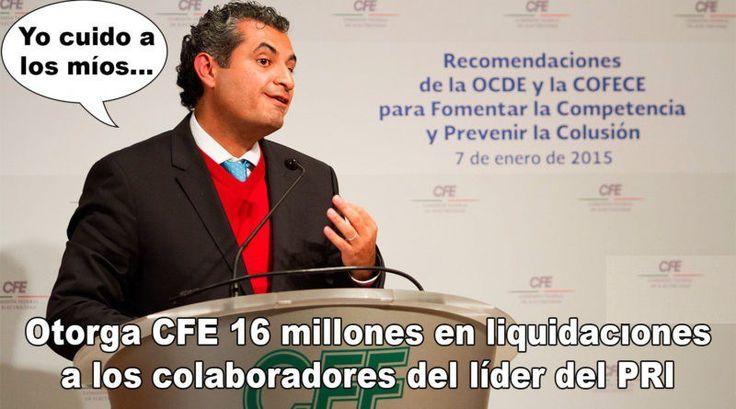 Enrique Ochoa Reza y las liquidaciones de CFE