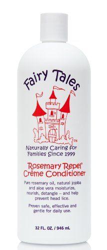 cool Fairy Tales Rosemary Repel Crème Conditioner, 32 oz