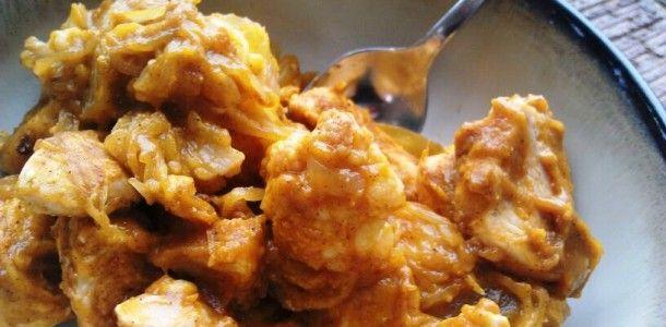 Pumpkin Cream Chicken Casserole and more of the best paleo pumpkin recipes on MyNaturalFamily.com #paleo #pumpkin #recipe