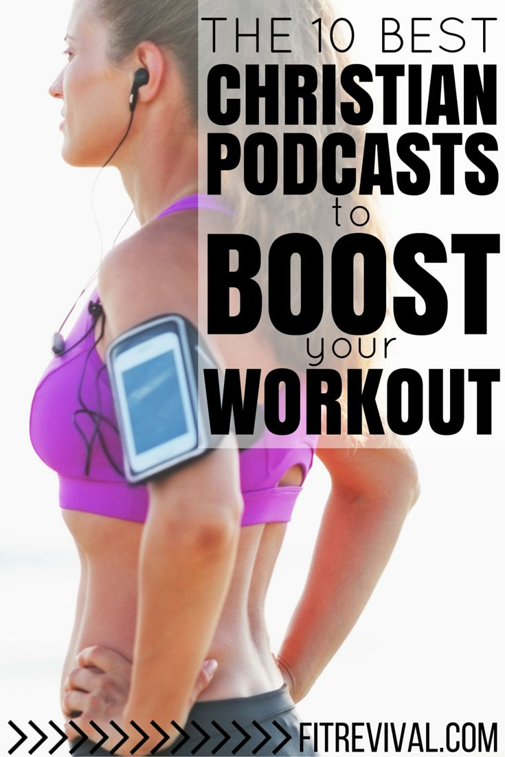 Looking for some extra encouragement to boost your workout? Why not listen to one of these uplifting Christian Podcasts and experience the difference in your body and soul.
