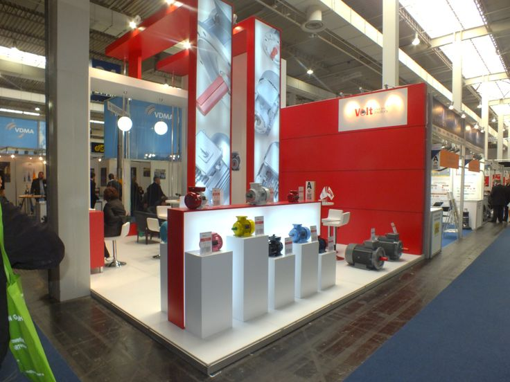 Volt Exhibition Stand 2013 Germany