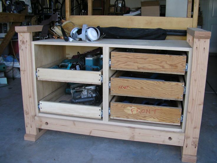 Best images about workbench drawers on pinterest the