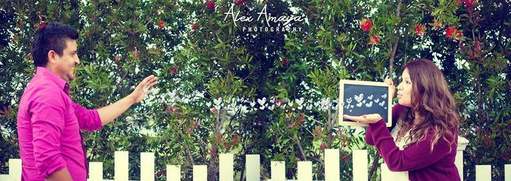 Engagement Photos Ideas, Chalkboard hearts. Alexamayaphotography.com
