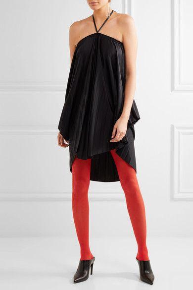 Balenciaga - Intarsia Tights - Red - L