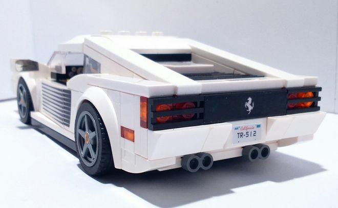 LEGO Ideas - Ferrari TR 512 Testarossa