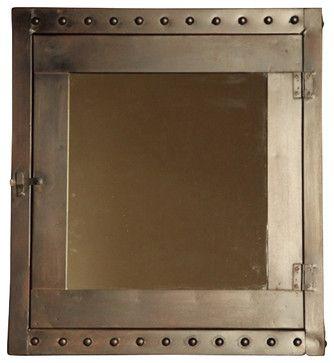 Rivet Medicine Cabinet - traditional - medicine cabinets - BoBo Intriguing Objects