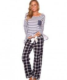 Lovebirds Cotton Flannel Check Long Pant - Multi Colour