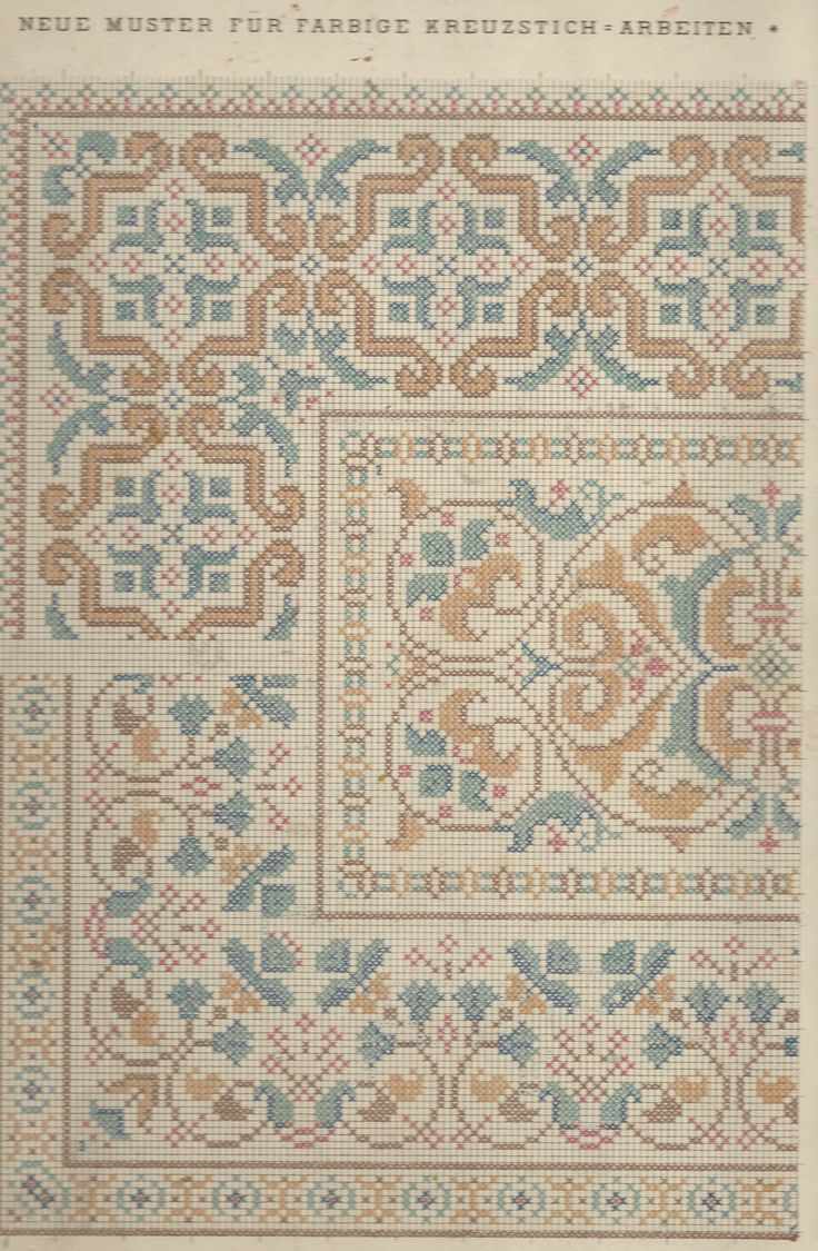 1 / Blatt 6  Note: I need to go through my antique/vintage pattern books and see if I have this...