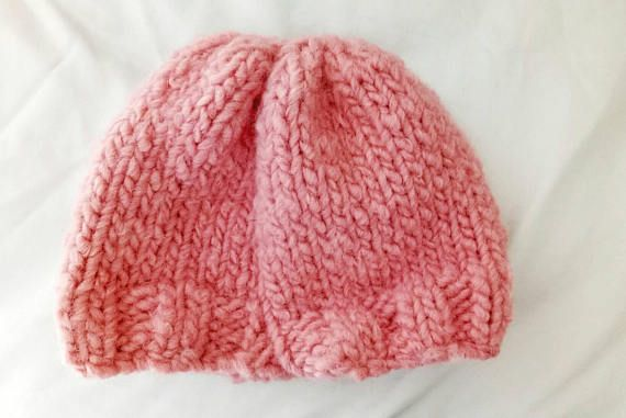 Check out this item in my Etsy shop https://www.etsy.com/uk/listing/542647436/chunky-salmon-pink-wool-beanie-small