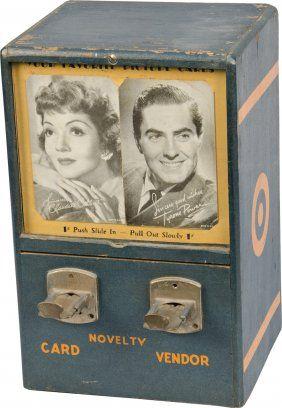 1 Cent Novelty Co. Countertop 2-Card Vending Machine Fe
