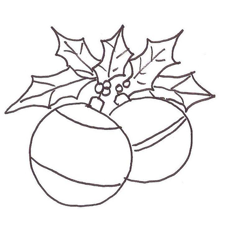 Dibujos De Esferas Navidenas Para Colorear Esferas Navidenas