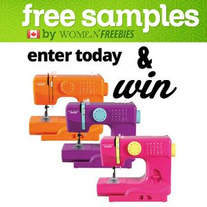 Win a Pink, Orange or Purple Sewing Machine My sewing machine is on it's last legs, would love a Janome! and....Pink! would be epic!
