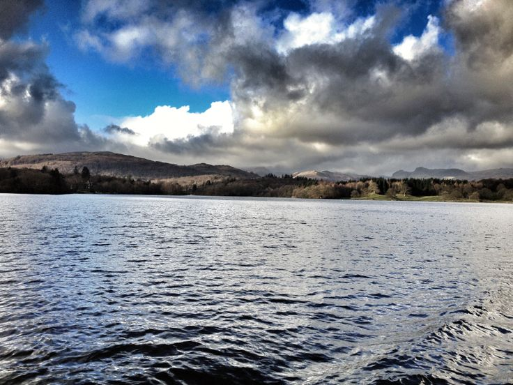 Chilly day on Windermere