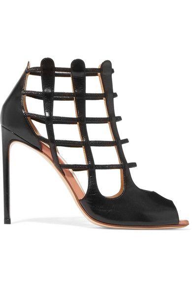 FRANCESCO RUSSO Cutout leather sandals. #francescorusso #shoes #sandals