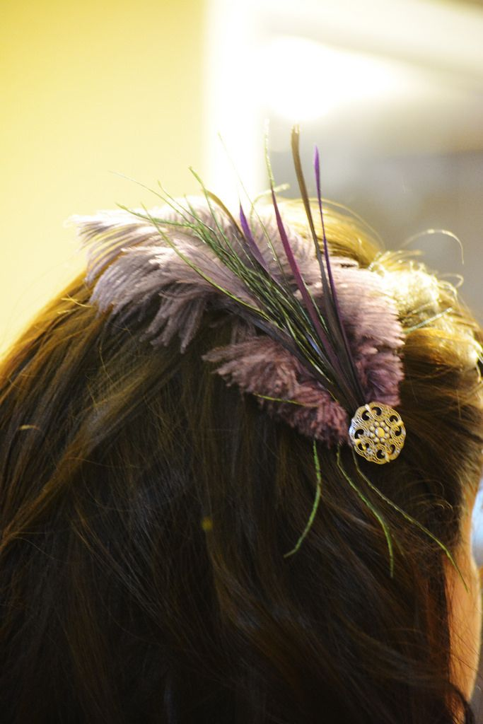 When I was weeding through pictures of hair fascinators for my bridesmaids, I was totally in awe of how beautiful some of them were. After goofing off with my now husband in a craft store, I had a ...