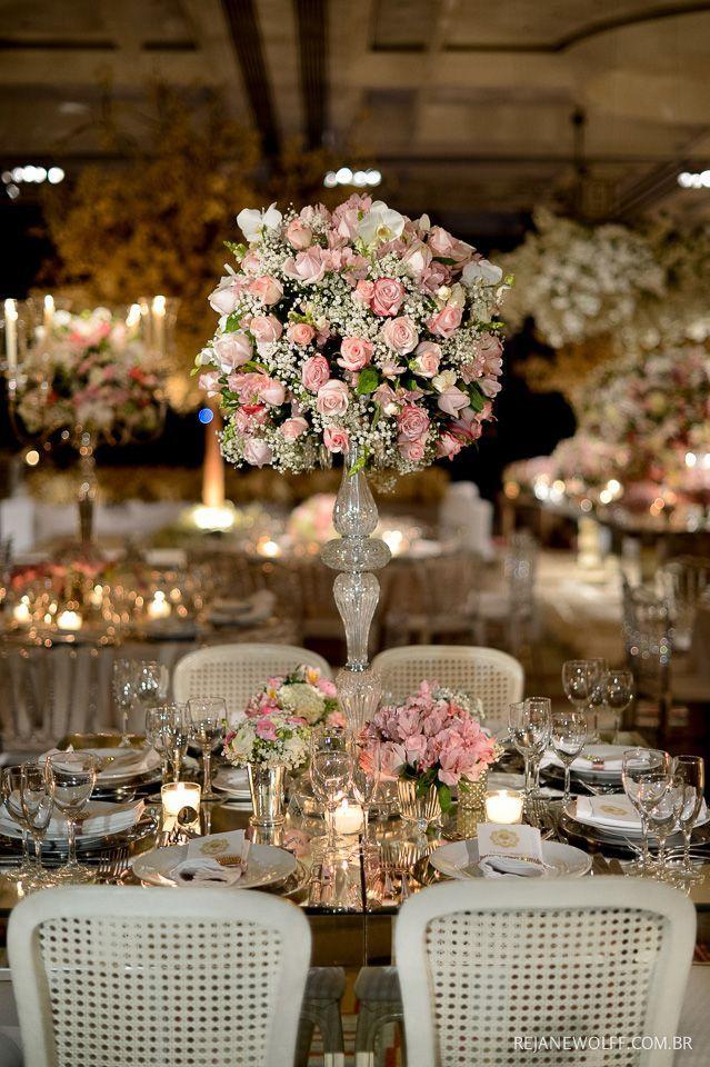 Amo os tons em rosa e branco e a árvore francesa♡