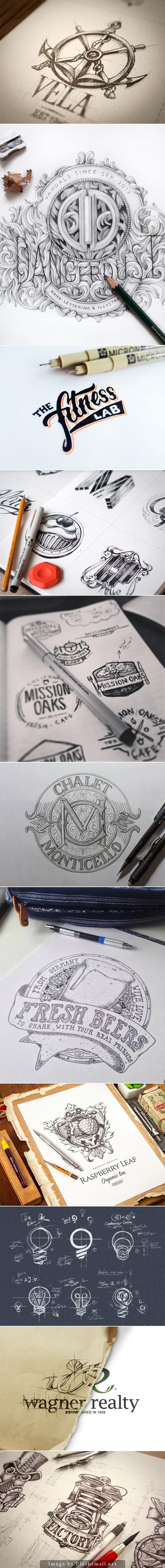 logo sketches #process