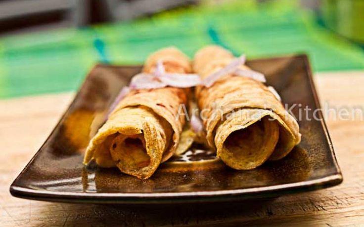 Kolkata Style Egg Roll | Frankie | Wrap