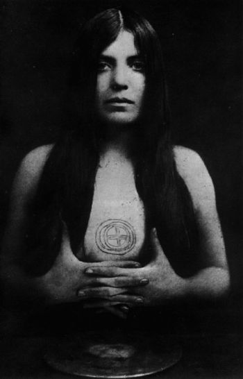 "Leila Waddell(Aleister Crowley's most infamous muse)Primary inspiration for ""The Book of Lies""  (1912) - a book of cryptic occult ritual."