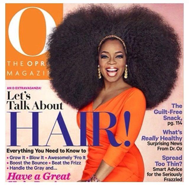 Oprah Rocks A 3.5lb Afro Wig For The Cover Of O Magazine! http://www.blackhairinformation.com/general-articles/oprah-rocks-a-3-5lb-afro-wig-for-the-cover-of-o-magazine/