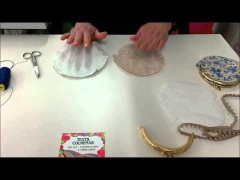 TUTORIAL: monedero con boquilla - YouTube