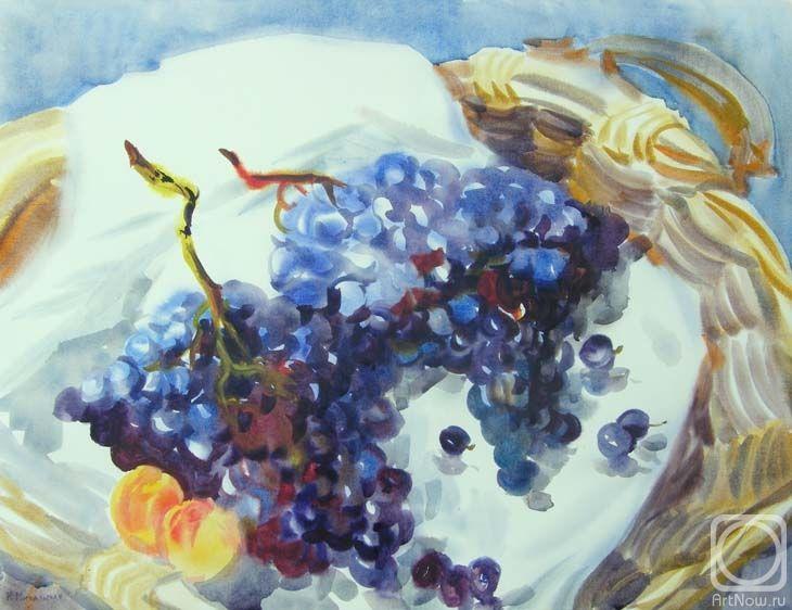 Михальская Екатерина. Сбор винограда